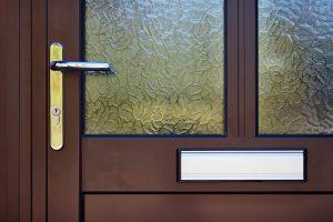 Aluminium door details