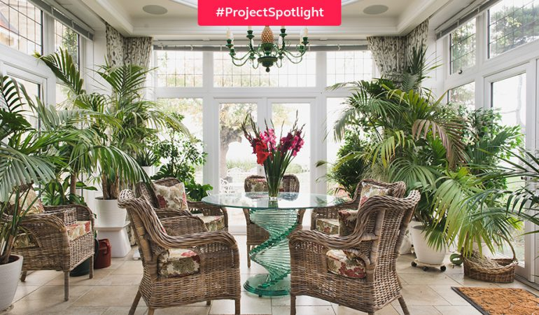 #ProjectSpotlight: Two seaside orangeries