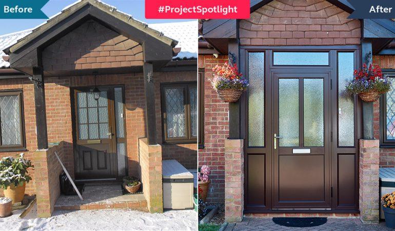 #ProjectSpotlight: Aluminium porch