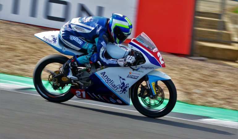One on one with motorbike racer Daniel Brooks