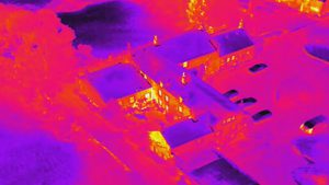 Heat loss through roofs