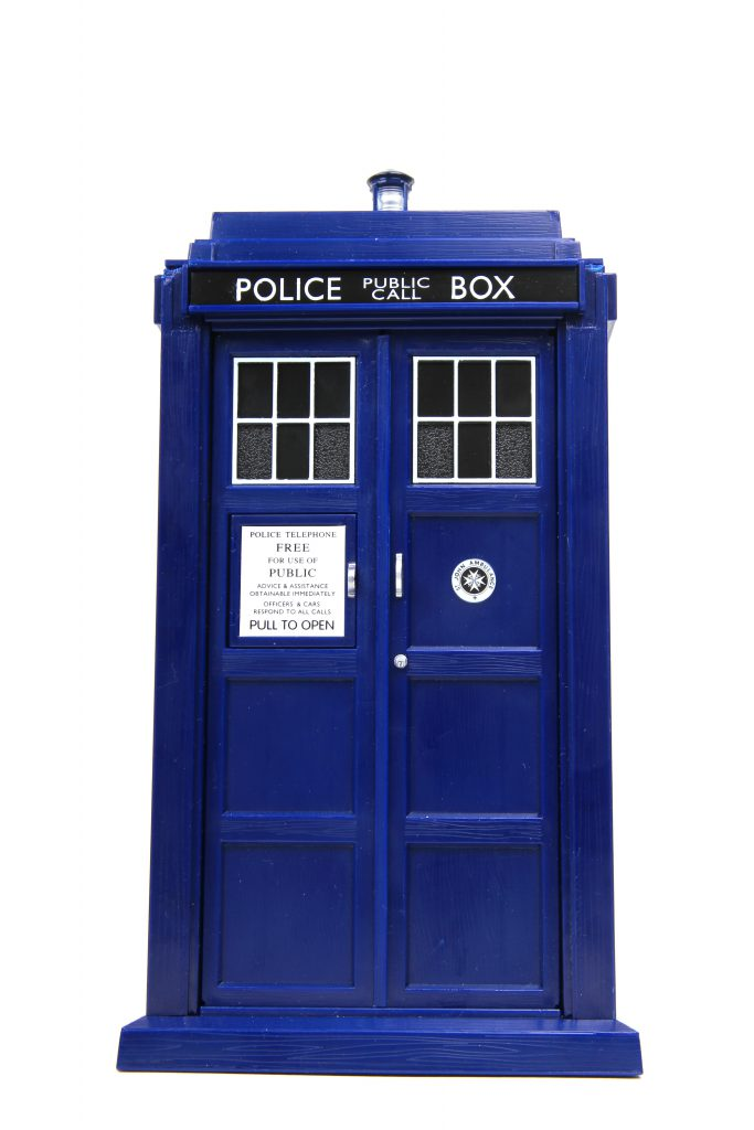 The Tardis in Dr Who
