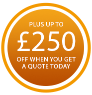 up to £500 online discount when you arrange a quote today