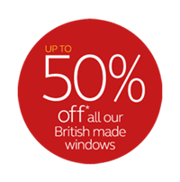 save up to £3000 plus up to 50% off windows