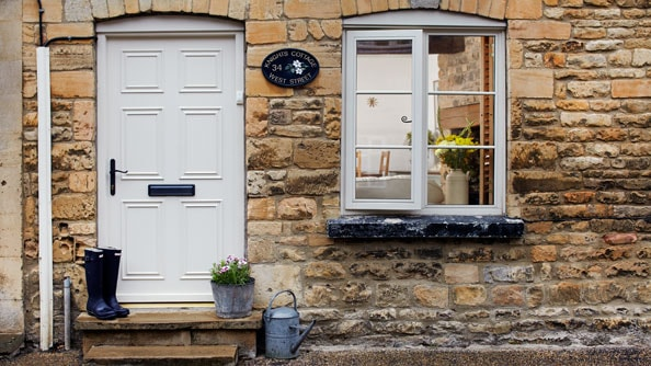 Quaint Anglian front door from the classic range