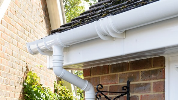 Anglian's rooftrim range in White Knight uPVC