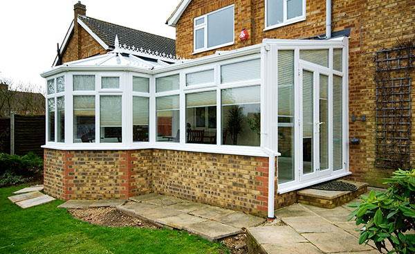 White Knight uPVC conservatory