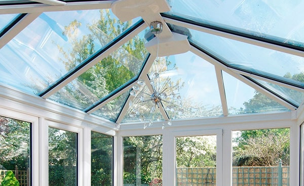 White Knight uPVC conservatory roof