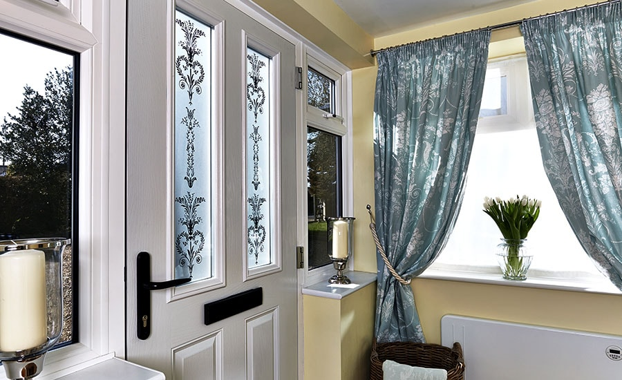 Glass Window Options Decorative Stained Etched