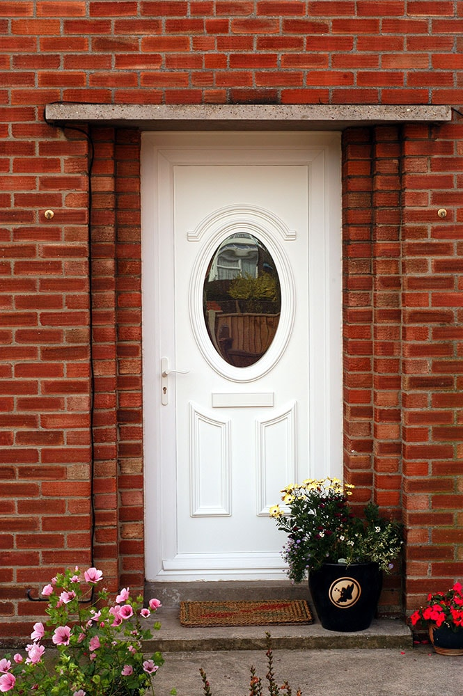 White upvc front doors upvc white front door m a home for Cheap upvc front doors