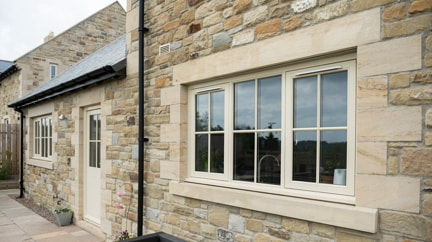 Flush Casement Windows, available from Anglian Home Improvements