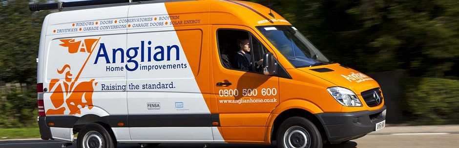 Anglian Home Improvements Sprinter Van