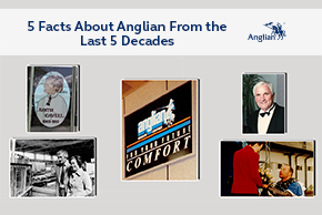5 facts about Anglian from the last 5 decades