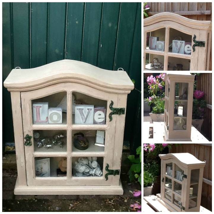 Melanie Blakeley's home made cabinet