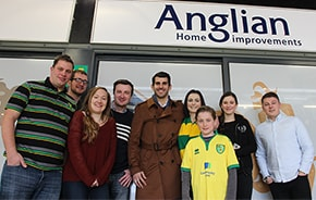 Anglian Angels at Carrow Road