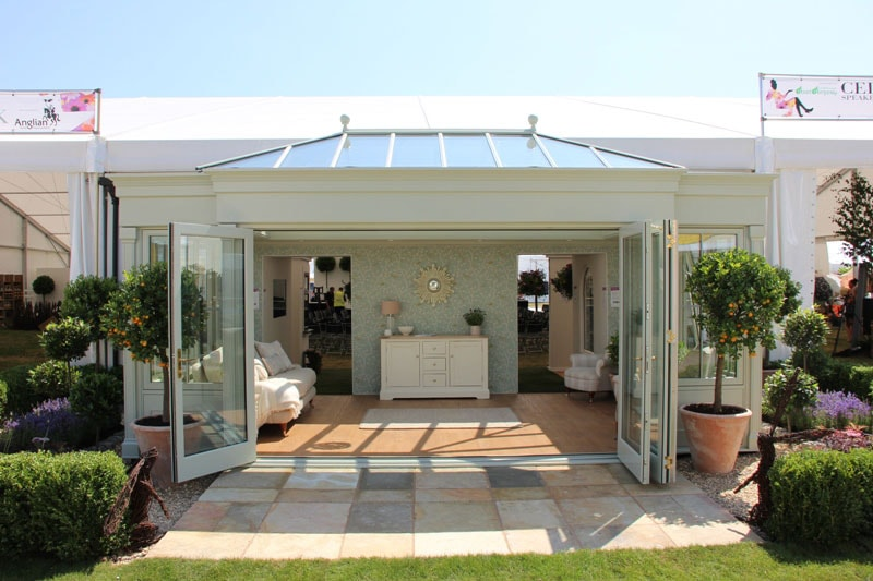 Anglian timber orangery front view