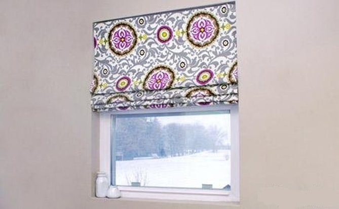 Colourful handmade blinds