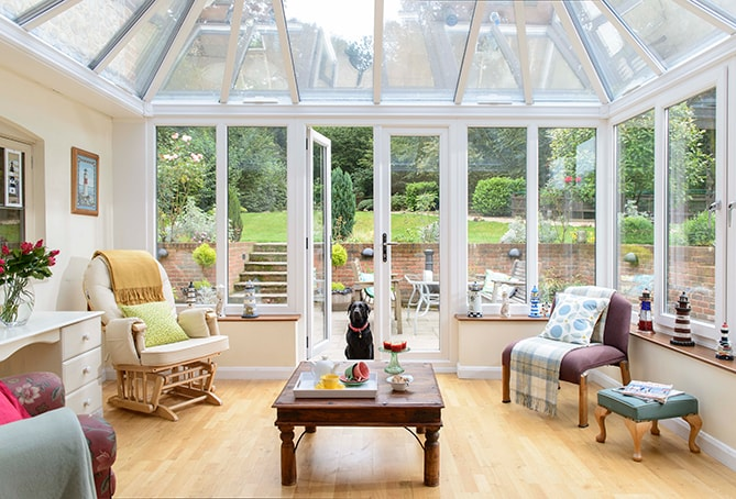 How to decorate and furnish your conservatory - Small conservatory ideas interiors ...