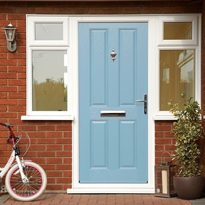 Duck Egg Blue Anglian front door
