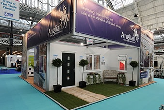 The Anglian stand at the Homebuilding and Renovating show in 2014