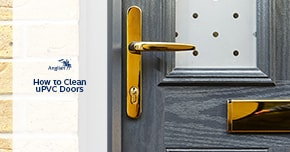 How to clean uPVC doors