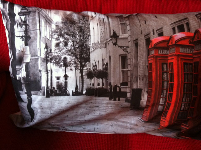 Phonebox Pillow