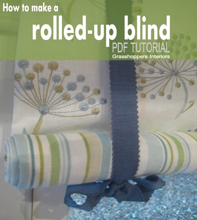 How To Make Your Own Stylish Kitchen Blinds With Ease
