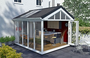 Anglian now offer Solid Roof Conservatories