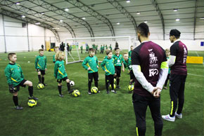 The F2 teaching skills to NCFC Academy