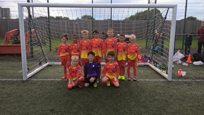 The Oakwood Terriers under sevens