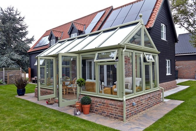 Anglian Timber Conservatory