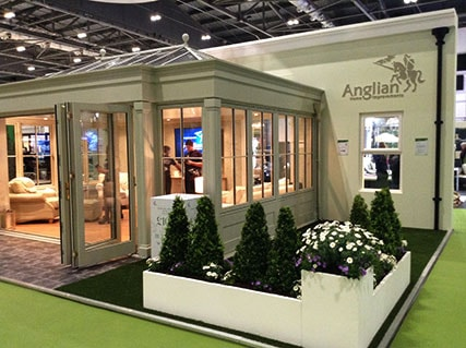 Anglian Timber Orangery at Grand Designs Live 2015