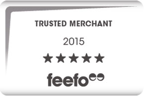 Feefo Trusted Merchant logo