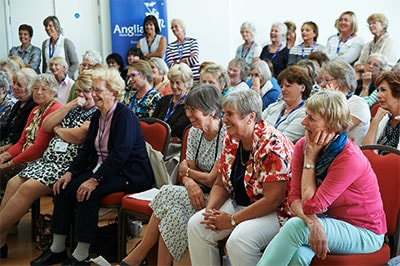 WI members at Anglian's Denman Day