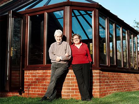 Mr & Mrs Morris conservatory installation case study