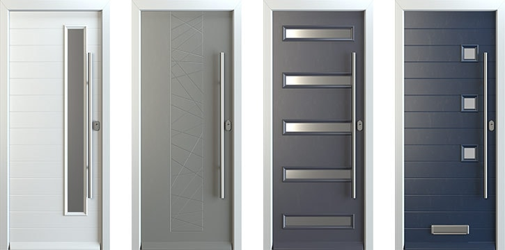 Designer Range Jpg. Contemporary Front Doors ... & Astounding Light Grey Composite Front Door Gallery - Ideas house ...
