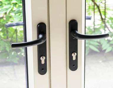 Anglian French doors give you peace mind with their excellent security