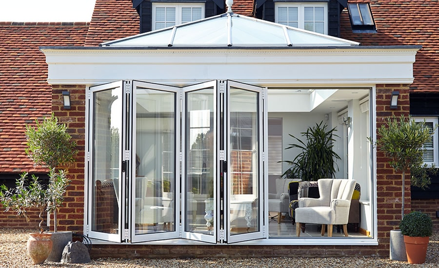 Bi fold Doors - Folding door range | Anglian Home
