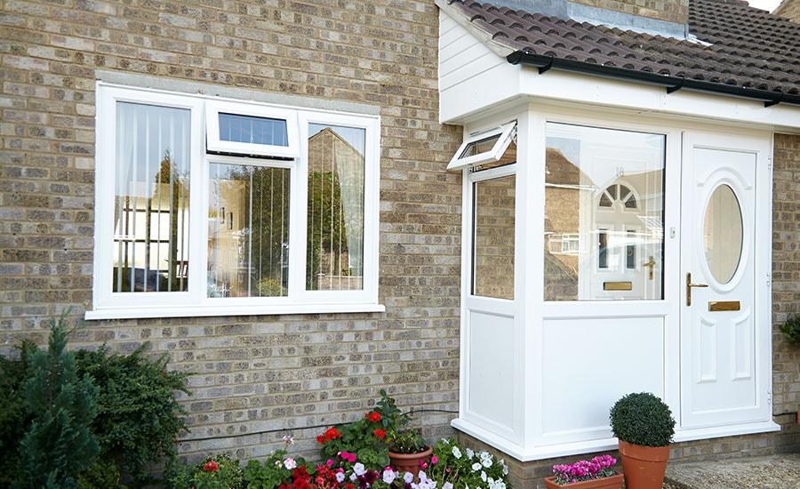Porches - uPVC, Wooden, & Aluminium Porches   Anglian Home