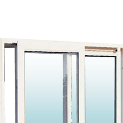 Patio doors tile