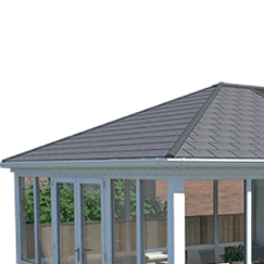 Solid Conservatory Roof Tile
