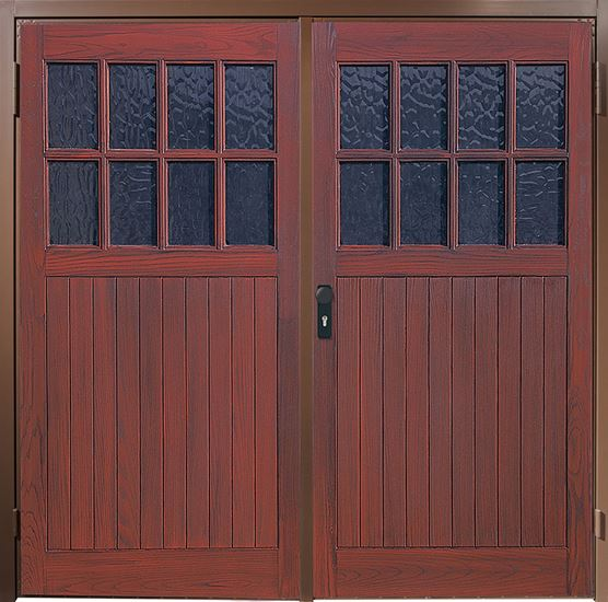 The Other Side Of Garage Doors For Garages : Grp side hinged garage doors anglian home