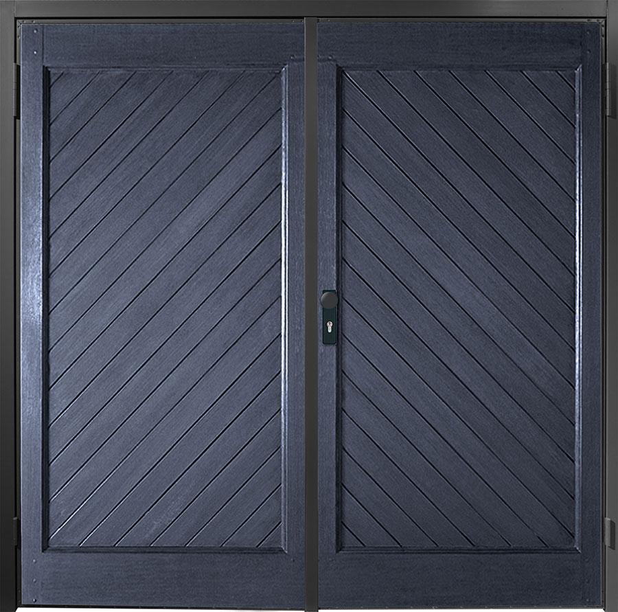 Grp side hinged garage doors anglian home for Garage side door