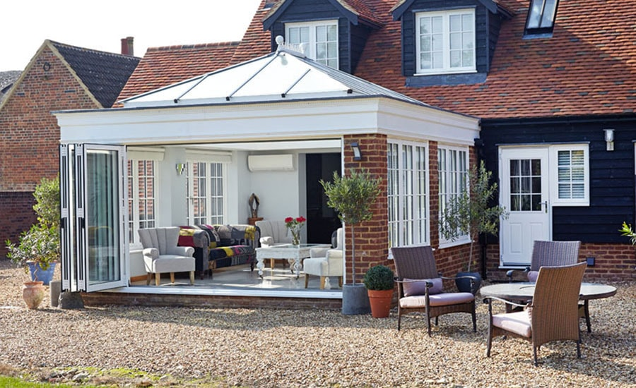Orangeries Timber UPVC Custom Orangery Range Anglian