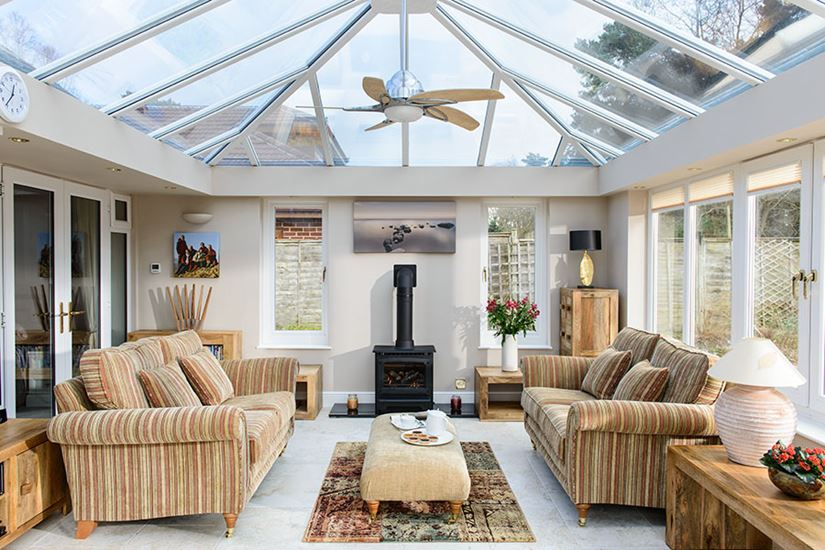 Interior view of an Anglian conservatory