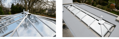 Anglian orangery roof styles