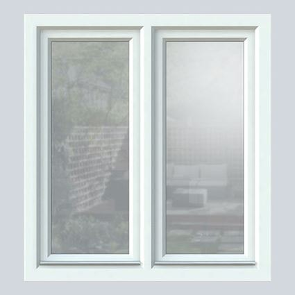 White Knight uPVC tilt & turn window