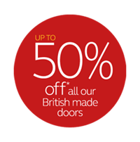 save up to £3000 plus up to 50% off doors