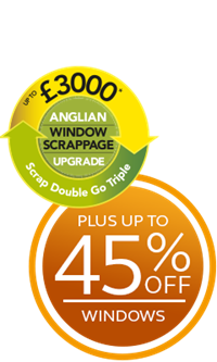 Save up to £3000 plus get up to 45% off windows