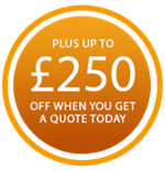 Up to £500 online discount